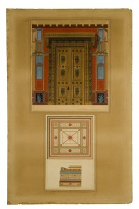 Projet pour la Maison Pompéienne du Prince Napoléon